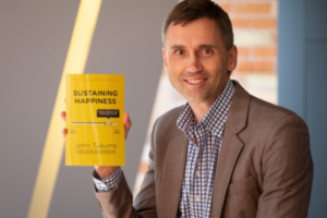 """Canadian Happiness Entrepreneur And Author John Tukums Hits Three Amazon Best Seller Lists With His First Book """"Sustaining Happiness: Building Workplace High Performance Capacity"""""""