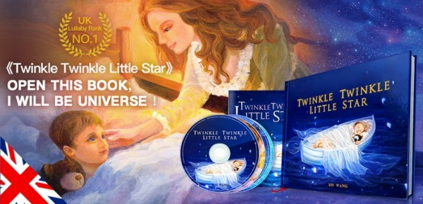 British Classic Picture Book Twinkle Twinkle Little Star Enter the Chinese Market 5