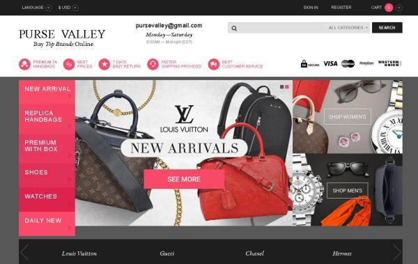 Purse Valley Announces Excellent Discounts On Louis Vuitton Handbags & Rolex Watches For Online Shoppers
