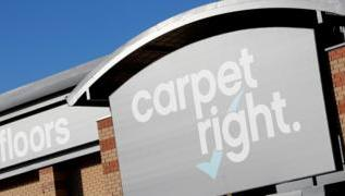 Carpetright losses widen as sales fall 1