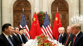 G20: US and China agree to suspend new trade tariffs 1