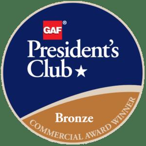 Lydick-Hooks Roofing Co. (Wichita Falls) Receives GAF's Prestigious 2018 President's Club Award 1