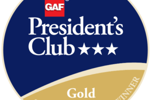 Kentex Roofing Systems Receives GAF's Prestigious 2018 President's Club Award 2