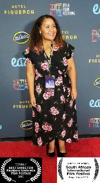 Filmmaker / Actress ANGELA MATEMOTJA Named 'Best Director' at London's 2019 Rainbow Umbrella Film Festival for Debut Feature 'ELEVATE' 4