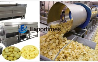 Exportimes (Dalian) E-Commerce Co., Ltd Announces Availability Of Automatic Potato Chips Making Machines for Global Supply 5