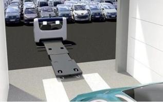Looking For A Parking Space Is Very Troublesome? German LIECTROUX Intelligent Parking Robot Can Help People Pick Up The Car And Stop The Car Automatically 3