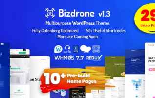 Gutenberg Optimized WordPress Theme Releases on ThemeLooks Marketplace 1