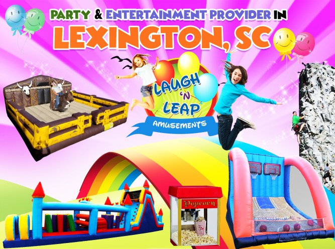 Laugh n Leap Has Bounce Houses For Rental Around Lexington SC 10