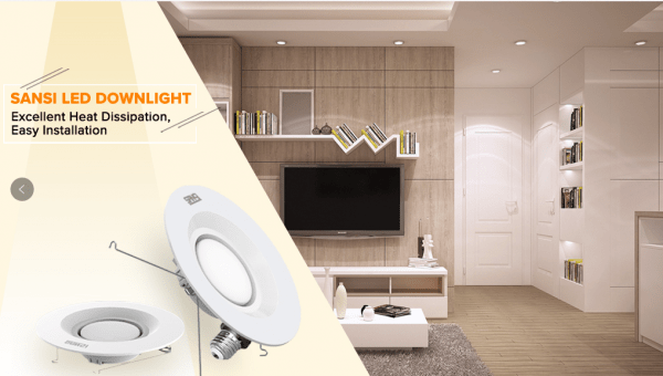 SANSI LED Downlights, Great Choice for Office Lighting 2