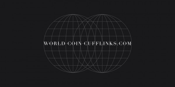 New Cufflinks by World Coin Cufflinks celebrating rise of cryptocurrency and Bitcoin 7