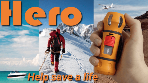 HERO Makes the World a Safer Place with Its Personal Emergency Satellite Beacon 4