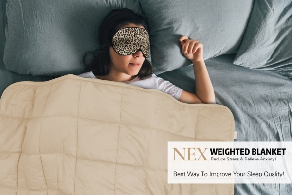 Oberon Distribution Teams with Target.com and Launch New HAITRAL NEX Weighted Blanket 7
