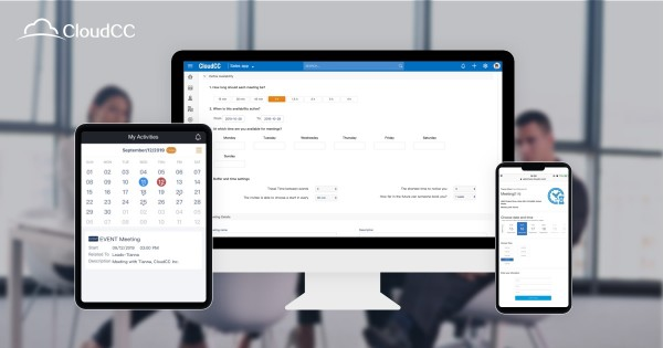 CloudCC Greatly Boosts the Productivity of Scheduling Appointments 1