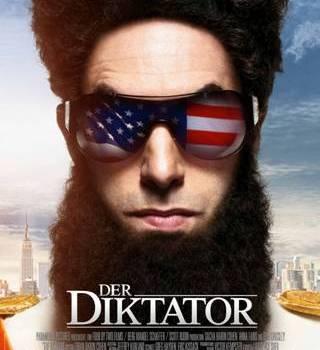 der diktator kinoplakat