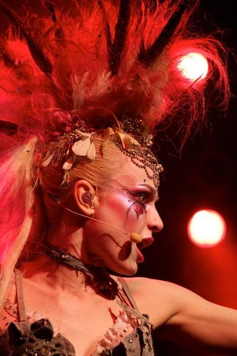 Künstlerin Emilie Autumn im März 2012 in Hamburg Foto von Mirko Beyer