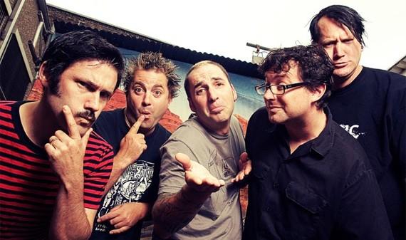 Lagwagon Punkband Bandfoto mit Joey Cape