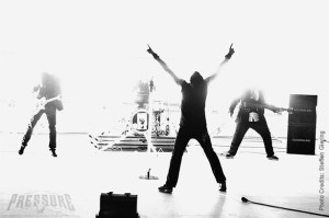 4lyn beim Videodreh zum Album Quasar Foto: SteffenGiering