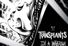 Transplants in a warzone Album Cover