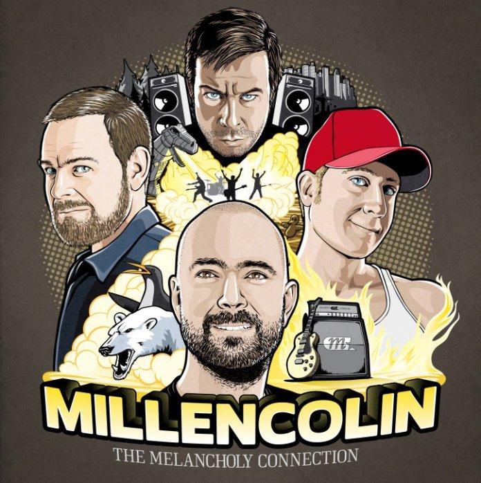 Millencolin The Melancholy Connection Album Cover Artwork