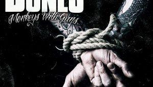 Album cover: The Bones - Monkeys with Guns - Review Pressure Magazine