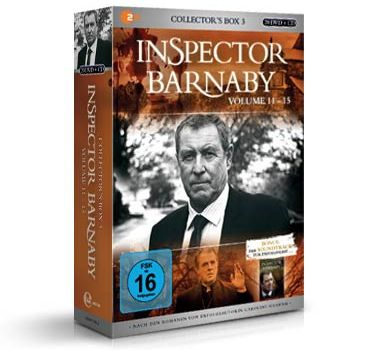 inspector barnaby DVD box volume