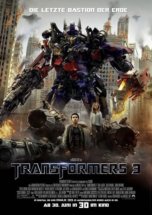 Filmkritik:Transformers DiedunkleSeitedesMondes