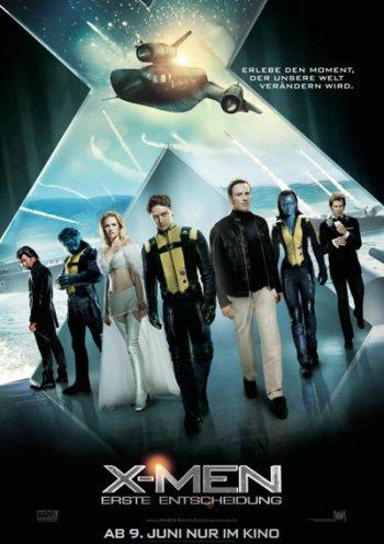 X Men Erste Entscheidung X Men First Class Poster