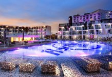 Hard Rock Hotel Ibiza SplashPool Night