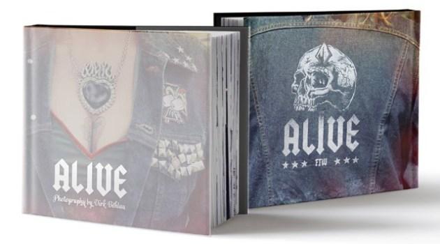 ALIVE photobook Dirk Behlau - Cover Front