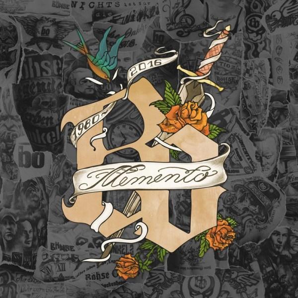 Böhse Onkelz Memento Albumcover 2016