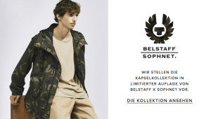 Belstaff Sophnet Streetwear Limitierte Kapsel-Kollektion 2017