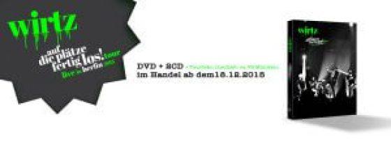 Daniel WIRTZ - DVD Auf die Plätze fertig los!