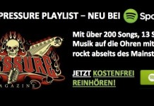 #NowPlaying DIE PRESSURE PLAYLIST – NEU BEI SPOTIFY