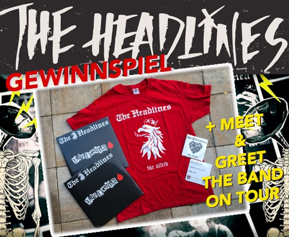 GEWINNSPIEL - THE HEADLINES Meet and Greet, rare Vinyl und CDs