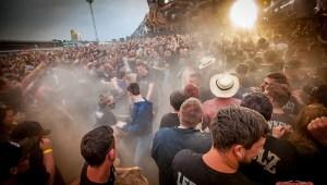 Wirbeln jede Menge Staub auf - die Böhsen Onkelz mit ihrem ersten MATAPALOZ Festival Foto: Tilo Klein