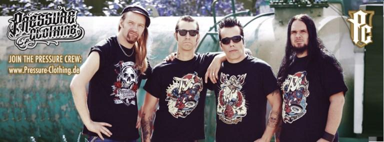 Pressure Clothing Rockige T-Shirts für Rockybilly, Rocker und Outlaws mit Stil by Pressure Magazine