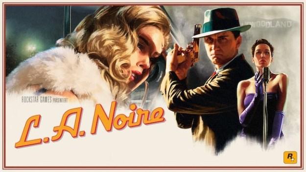 LA Noir Artwork Rockstar Games Ganster Mafia Videospiel
