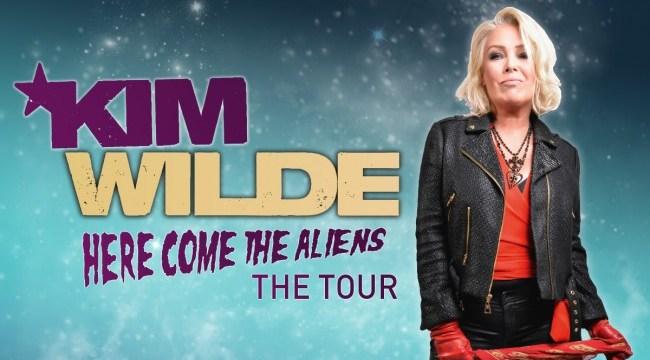 """Kim Wilde """"Here Come The Aliens"""" Album Trailer und Tourdaten. Das neue Album am 16. März via earMUSIC"""