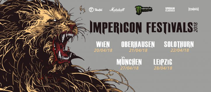 Impericon Festivals 2018 – Band Lineup und Infos