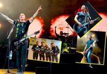 Frei.Wild Arena-Tournee Feuertaufe in München mit Sales Award auf Presse Veranstaltung zu Rivalen und Rebellen Tour 2018 - Fotos: Pressure Magazine