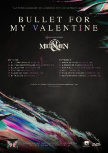 OF MICE & MEN Tour mit Bullet For My Valentine