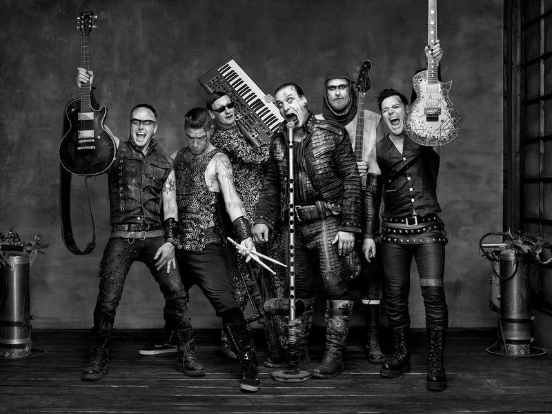 Rammstein 2019 live und komplett ausverkauft.