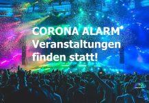 COVID-19 Corona Warnung für Konzerte Festivals und Großveranstaltungen 2020