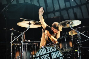 Broilers Schlagzeuger Andreas Brügge im Interview mit Pressure Magazine Foto: Christian Thiele