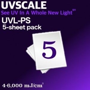 UVSCALE Low 5-Sheet Pack