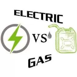 electric vs gas pressure washer