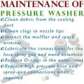 Maintenance of a Pressure Washer