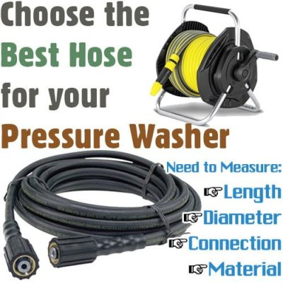 best pressure washer hose