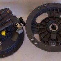Pressure Washer Pump Vertical Shaft Engine, Black Annodized