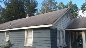 asphalt roof cleaning